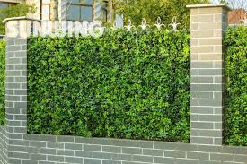 3sqm artificial ivy fence screening uv proof green ivy wall decorative garden fence artificial boxwood hedges panel g0602a009