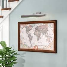 national geographic graphic art print on canvas on 72 wide wall art with world map framed art you ll love wayfair