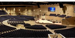 Assembly Hall 3d Seating Chart Church Auditorium Designed To Seat 4 400 In A Radial Layout