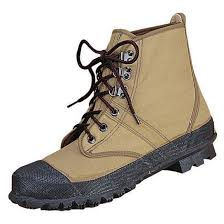 Mens Stearns 3 Ply Canvas Lug Sole Wading Boots Taupe