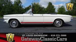 1963 Chevrolet Corvair for sale at Gateway Classic Cars STL - YouTube
