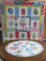 Birdhouse Topper and Quilt by Barb & birdhouse. This pattern has instructions for both a 30