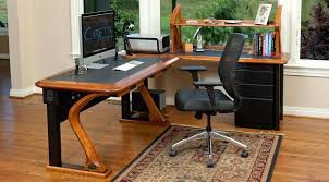 home office cable management. Computer Desk With Cable Management Hardwood Technology Desks Desktop . Home Office I