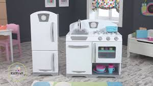 Kid Craft Retro Kitchen 2 Piece Retro Kitchen White 53307 On Vimeo