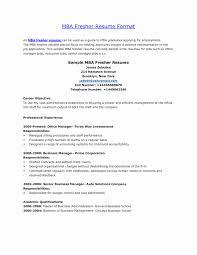 47 Fresh Photos Of Mba Finance Fresher Resume Format Resume