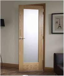 interior wood door with glass insert