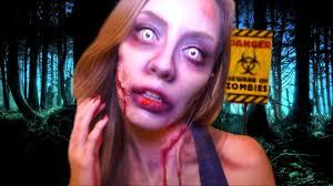 conviértete en zombie fácil the walking dead makeup tutorial katie angel you