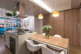 Kitchen Apartment Redesign Of A Small Apartment In Brazil By Semerene Arquitetura