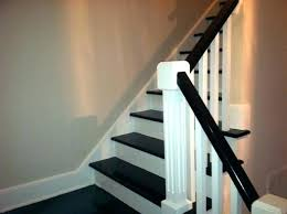 painted basement stairs. Simple Painted Painting Interior Stairs Painted Ideas Creative Idea Stair  Traditional Staircase Basement Intended