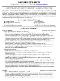 sample resume for administrative assistant skills best resume books executive administrative assistant resume