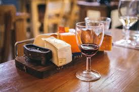 Choklad och vinprovning