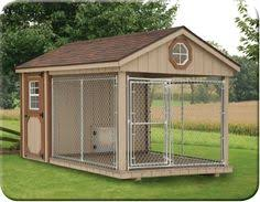 air conditioning dog house. front view of 8 x 12 dura-temp dog kennel -looks so spacious \u0026 air conditioning house