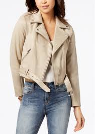 american rag juniors faux suede moto jacket created for macy s