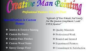 painting business cards se painting business cards templates free