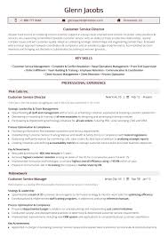 Customer Service Director Resume Sample By Hiration