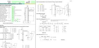 Basement Masonry Wall Design Based On Aci 530 05 Spreadsheet