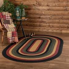 new rustic black red green braided jute rug oval area mat large x small textured design jute rug pad oval
