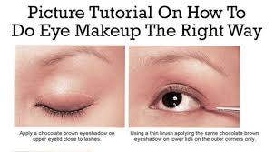 best ideas for makeup tutorials picture tutorial on how to do eye makeup the right way