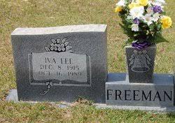 Iva Lee Jones Freeman (1915-1989) - Find A Grave Memorial
