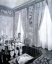 vite and vitesse guillaume de bonchs in paris interior design by georges geffroy dining room even the lace placemats work here