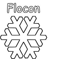 Coloriage Flocon Neige Imprimer Sur Coloriages Info Concernant Dessin A Imprimer Un Flocon De Neige L