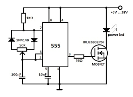 dimmer circuit for led motorcycle schematic dimmer circuit for led high power led dimmer circuit dimmer circuit for led