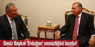 Deniz Baykal 'Erdoğan' sessizliğini bozdu!