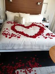 romantic bedroom ideas with rose petals. 40 wedding first night bed decoration ideas - bored art romantic bedroom with rose petals s