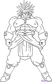 Easy Dragon Ball Coloring Pages Dragon