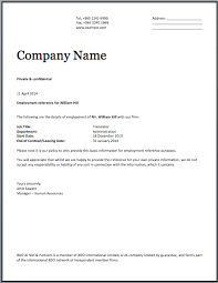 Format Of Employer Certificate Employment Certificate Template Letter Of Employment