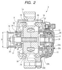 Ep1624549a2 internal bustion engine belt driven alternator