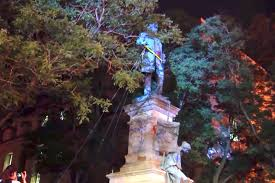 Freemasons For Dummies: Albert Pike Statue in Washington, DC Toppled,  Burned By Protesters