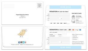 Remittance Envelope | Template 205 | Donation Envelope