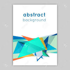 Backgrounds For Posters Free Material Design Brochures With Geometric Elements Abstract