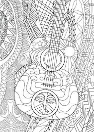 Music Themed Coloring Pages Music Notes Coloring Pages Note Coloring