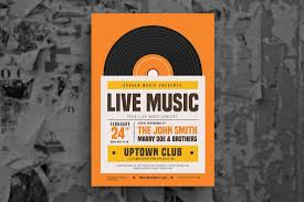 Good Flyers Examples 30 Best Music Band Flyer Templates Design Shack