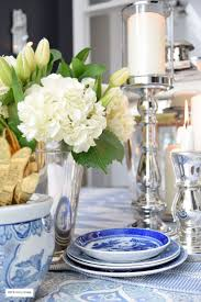 Blue And Gold Table Setting 17 Best Images About Table Settings On Pinterest Flatware