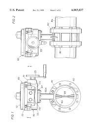 patent us6003837 valve actuator google patents patent drawing