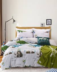 full size duvet. Delighful Size 100 Cotton Single Full Size Mammoth And Dinosaur Print Bedding Set Kids  Duvet Covers And Full Size Duvet D