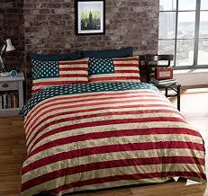 Patriotic Bedding Beautiful American Flag forter Sets
