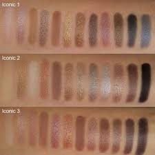 makeup revolution palettes swatches dupe for the palettes