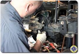 how to fj cruiser wheel bearing replacment off road adventure fj cruiser rear brakes