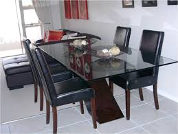 glass top dining tables with wood base glass top wood base dining