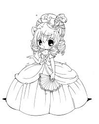 Small Picture Princess chibi coloring pages ColoringStar