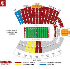 Faurot Field Seating Chart Rows Iu Stadium Seating Chart Www Bedowntowndaytona Com