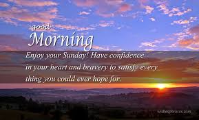 Good Morning Sunday Wishes And Sunday Messages