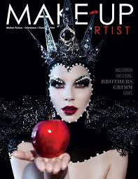 the beauty cover of make up artist magazine issue 110 make up by