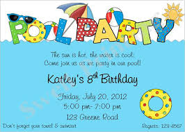 Free Pool Party Invitations Printable 36 Pool Party Invitation Templates Psd Ai Word Free