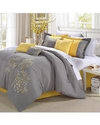 Image King Red Barrel Studio Andree 12 Piece Comforter Set Rdbt6878 Color Yellowgray Size Better Homes And Gardens Score Big Savings Red Barrel Studio Andree 12 Piece Comforter Set