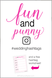 funny pun wedding hashtags tips and a free worksheet Wedding Hashtags Punny Wedding Hashtags Punny #42 wedding hashtag funny